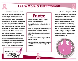 Term two nicole 39 s graphics and cadd portfolio for Breast cancer brochure template free